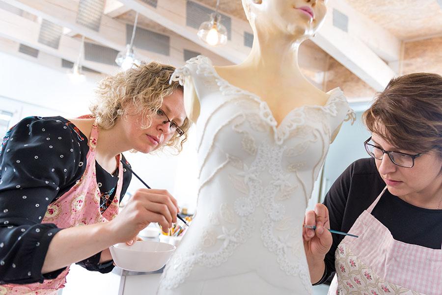 cukrová nevěsta