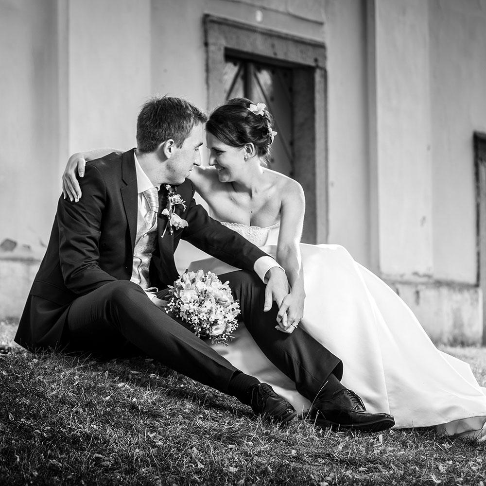 svatební fotografování / fotograf Vojtěch Pavelčík / Čechtice