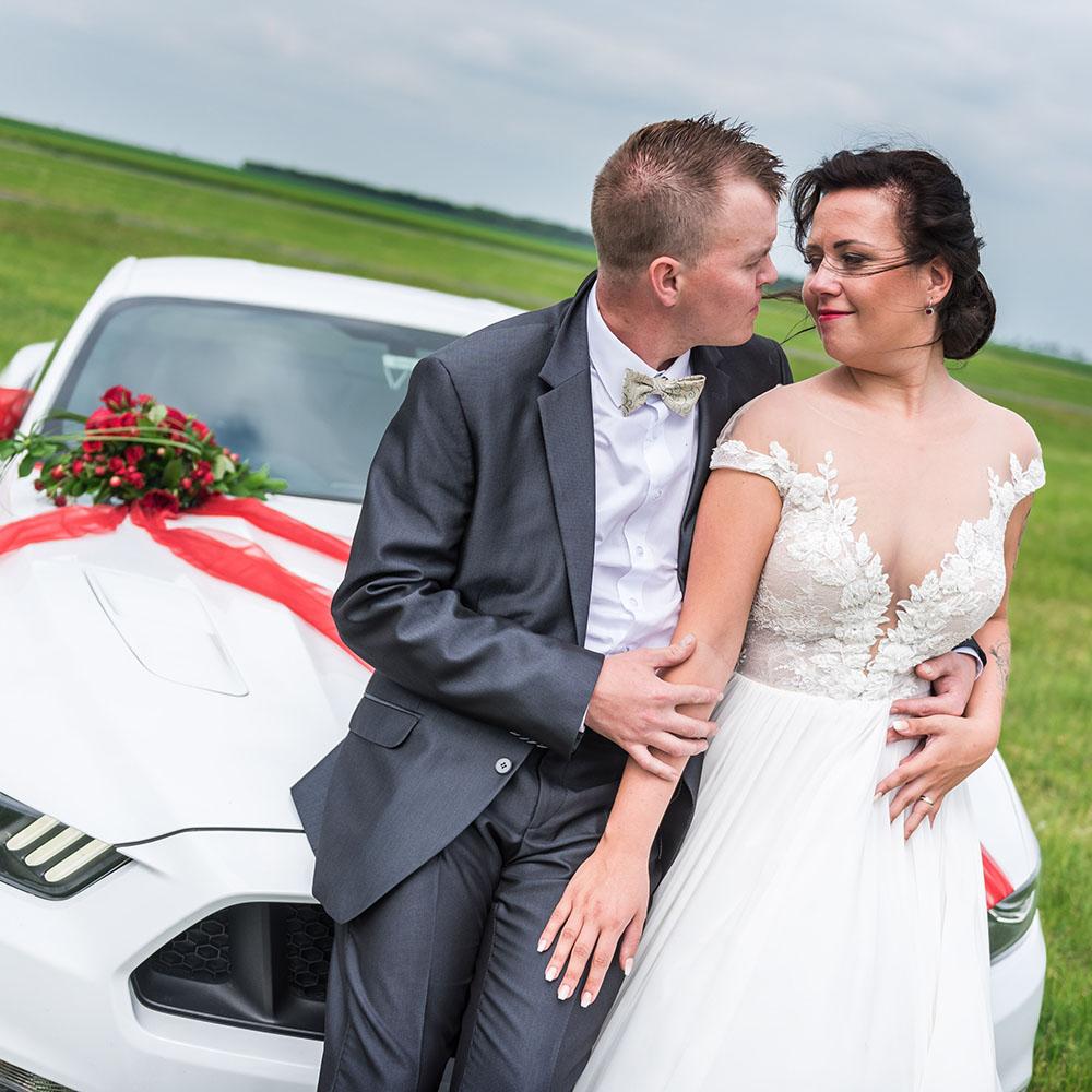 svatební fotografování / fotograf Vojtěch Pavelčík / Panenský Týnec