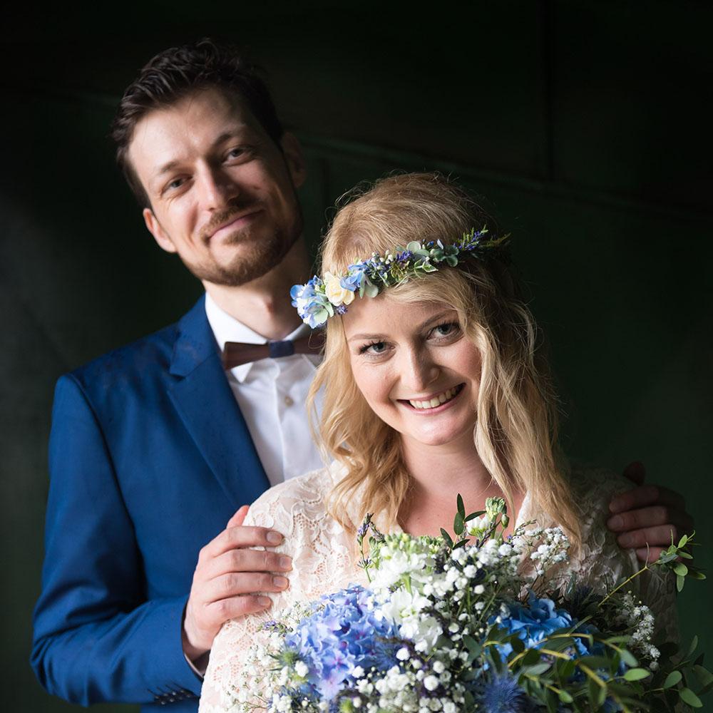 svatební fotografování / fotograf Vojtěch Pavelčík / kostel v Chlumu u Nalžovic